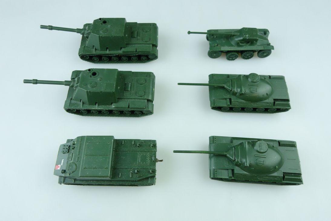 6x RMM Roskopf 1:100 Russland Frankreich Panzer Tank AMX 30 KW SU EBR 75 107700