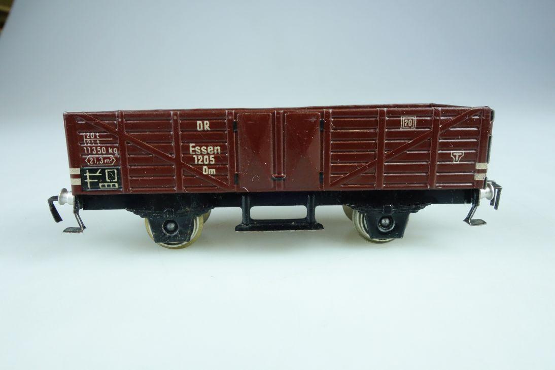 Fleischmann Blech H0 DC 1205 US Zone Güterwagen Hochbordwagen PTa 107606
