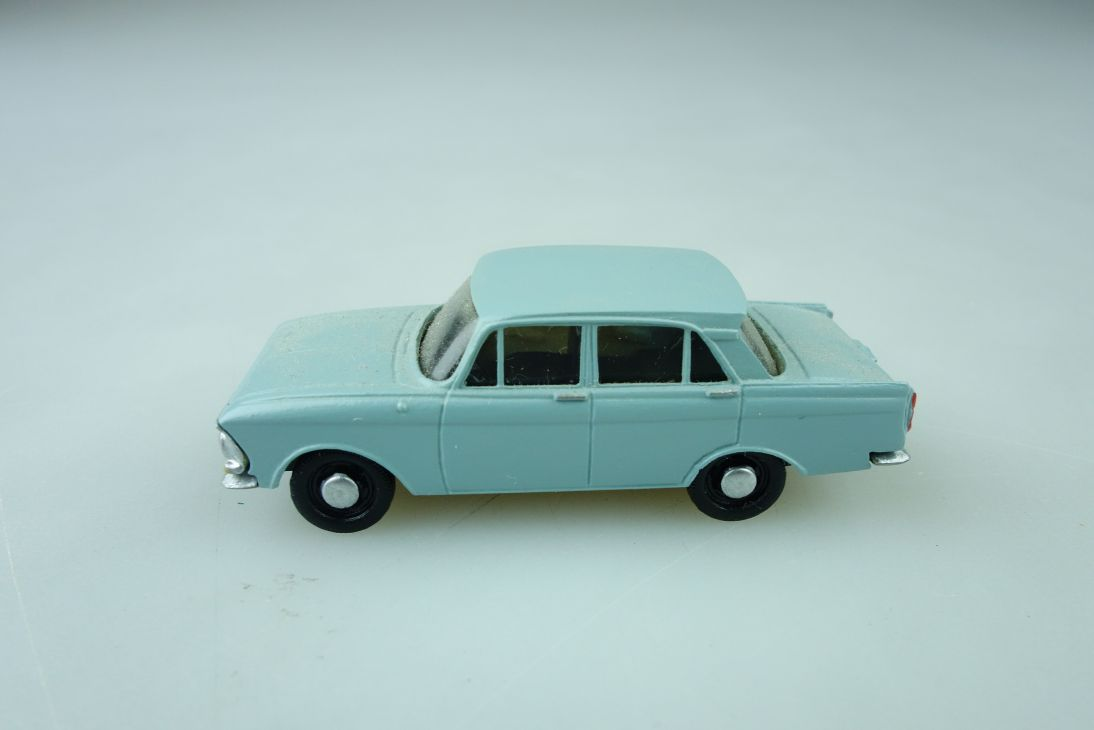 Adp Kleinserie 1/87 Moskvitch 408 limousine cccp DDR ohne Box 510220