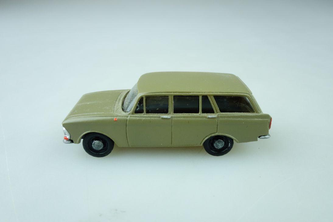 Adp Aris Kleinserie 1/87 Moskvitch 408 Kombi cccp DDR ohne Box 510221