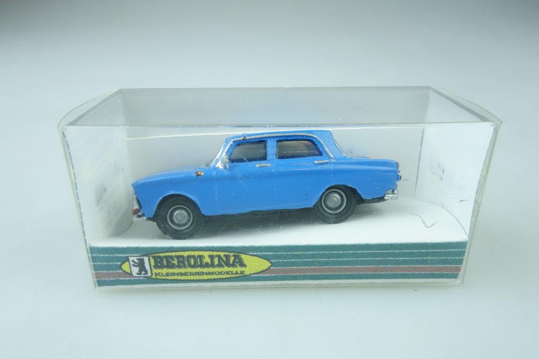 Berolina Kleinserie 1/87 Moskvitch 412 Unfallwagen cccp DDR ohne Box 510222