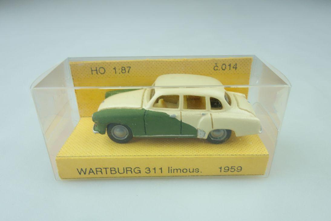 Artapo Handarbeits- Kleinserie 1/87 Wartburg 311 Limousine 1959 mit Box 510229
