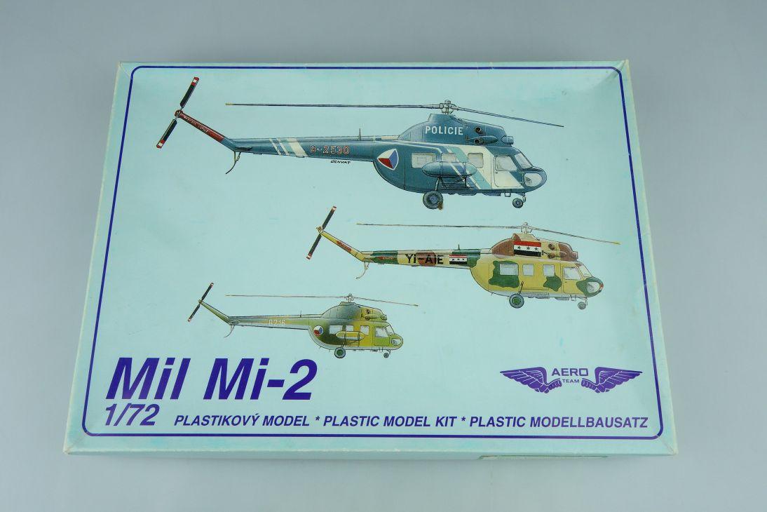 AERO Mil Mi-2 1:72 Hubschrauber Helicopter Kit 7203 Box 107714