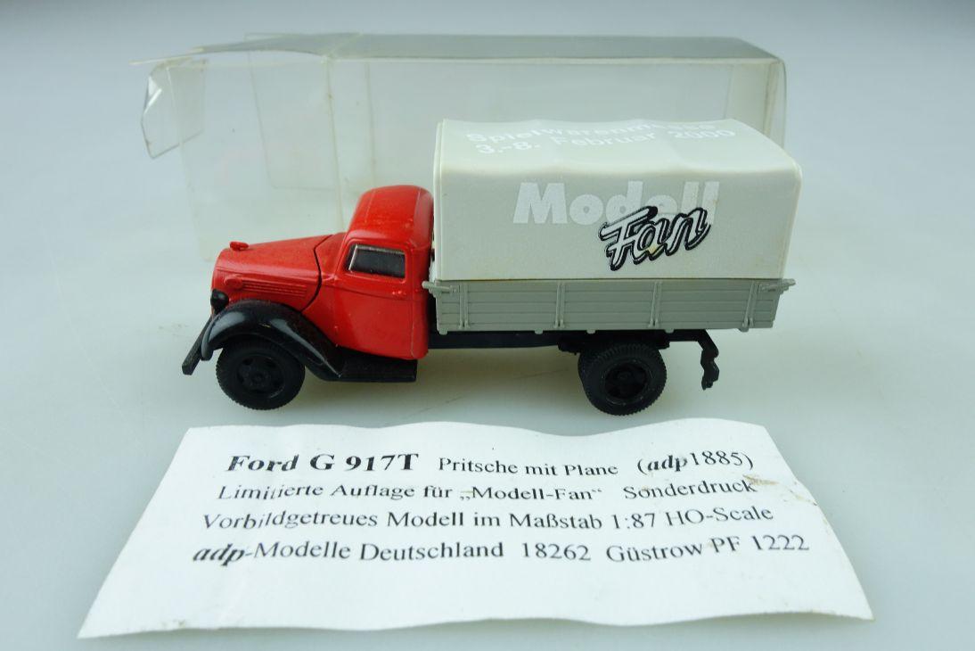 1835 Adp Kleinserie 1/87 Ford G 917 T Pritsche Plane limitiert mit Box 510235