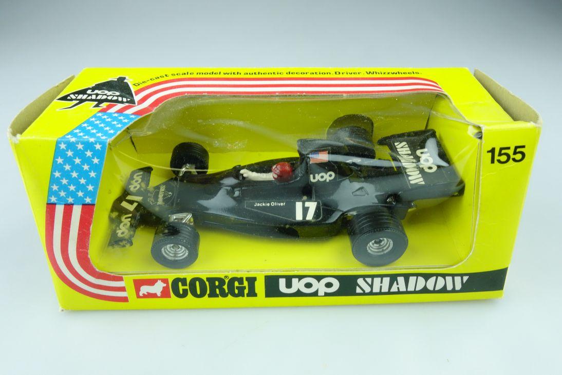 155 Corgi Toys 1/36 Uop Shadow Racer Formel 1 Rennwagen mit Box 510276