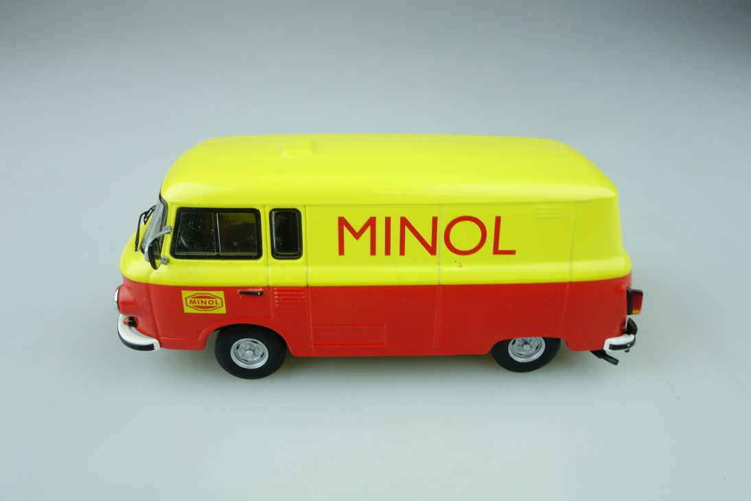 Schuco 1/43 Ifa Barkas B 1000 Minol Lieferwagen DDR Collection ohne Box 510293