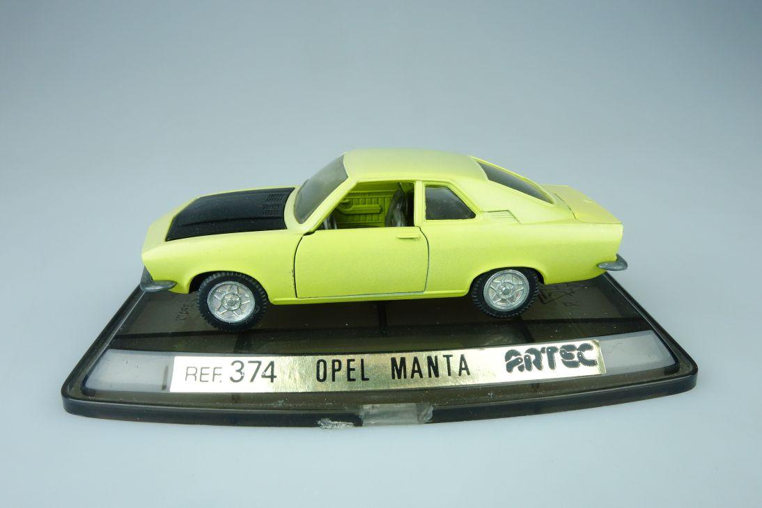 1:43 Opel Manta 1:43 ARTEC model ref. 374 Pilen 107632