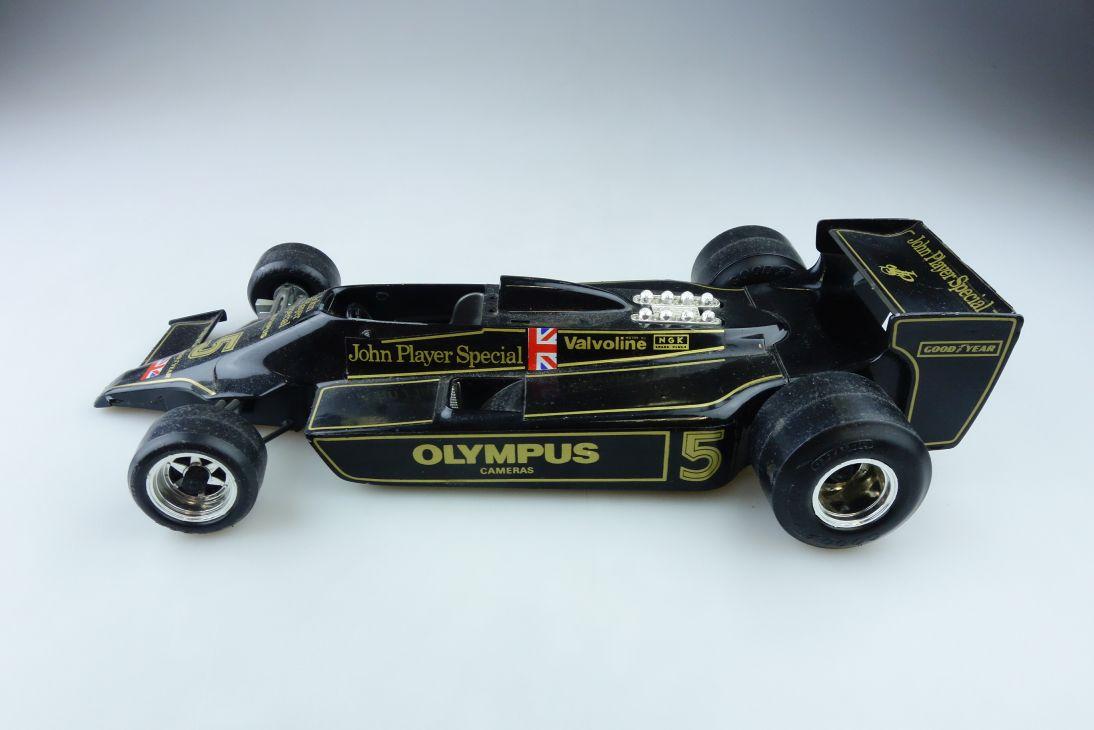 2105 Bburago 1/14 Lotus John Player Special Formel 1 Bastler ohne Box 510298