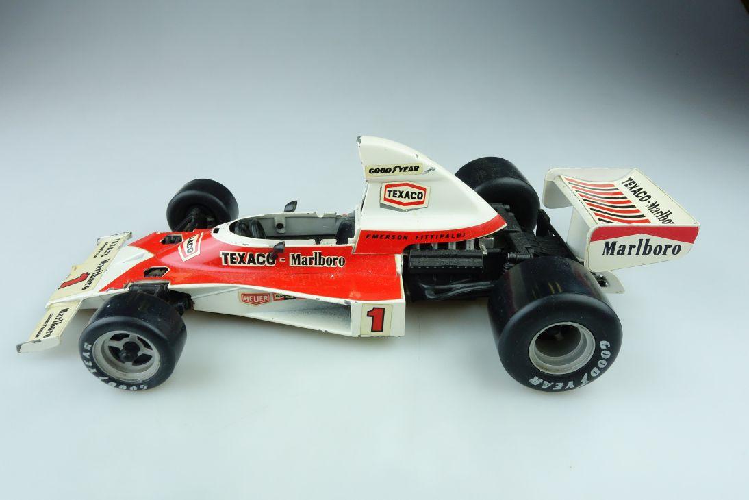 GF 2 Polistil 1/16 Mc Laren M23 Racer Formel 1 Bastler ohne Box 510300