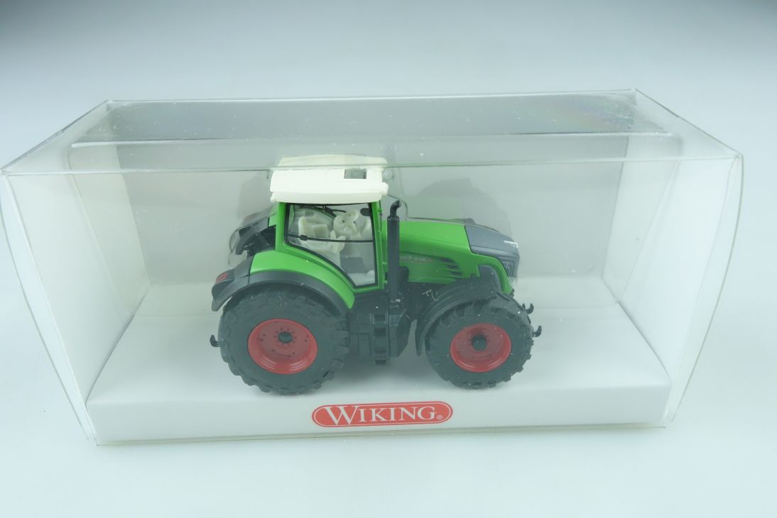 03610132 Wiking 1/87 Fendt 936 Vario Schlepper Traktor mit Box 509938d
