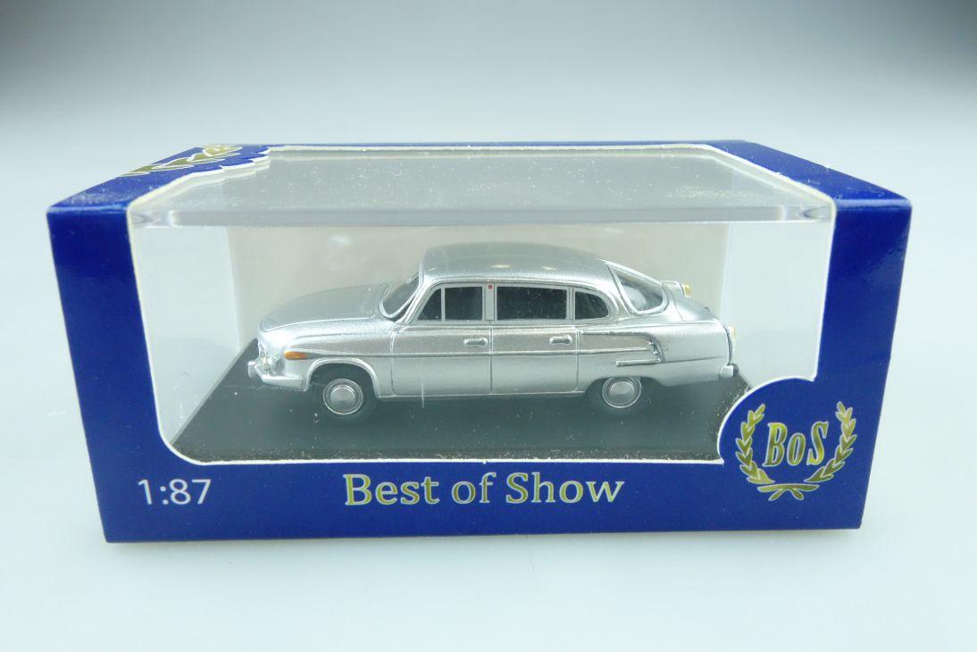 87021 BOS 1/87 Tatra 603 silber Kleinserie mit Box 509941