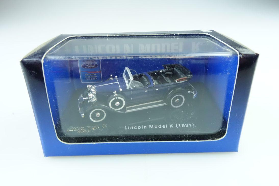 Ricko 1/87 Lincoln Model K 1931 Phaeton Convertible mit Box 509943
