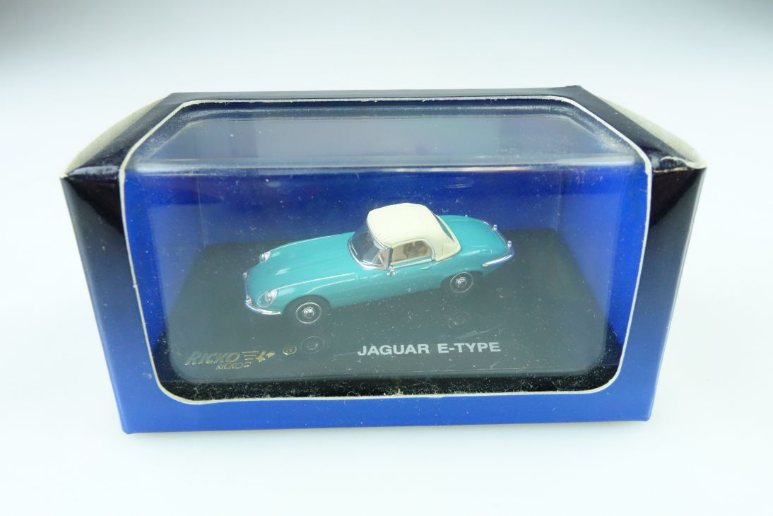 Ricko 1/87 Jaguar E Type Roadster V12 Convertible limited mit Box 509946