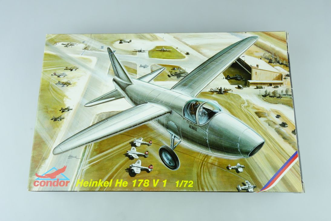 Condor 1/72 Heinkel He 178 V 1 Cz Kit C72003 Box 107733