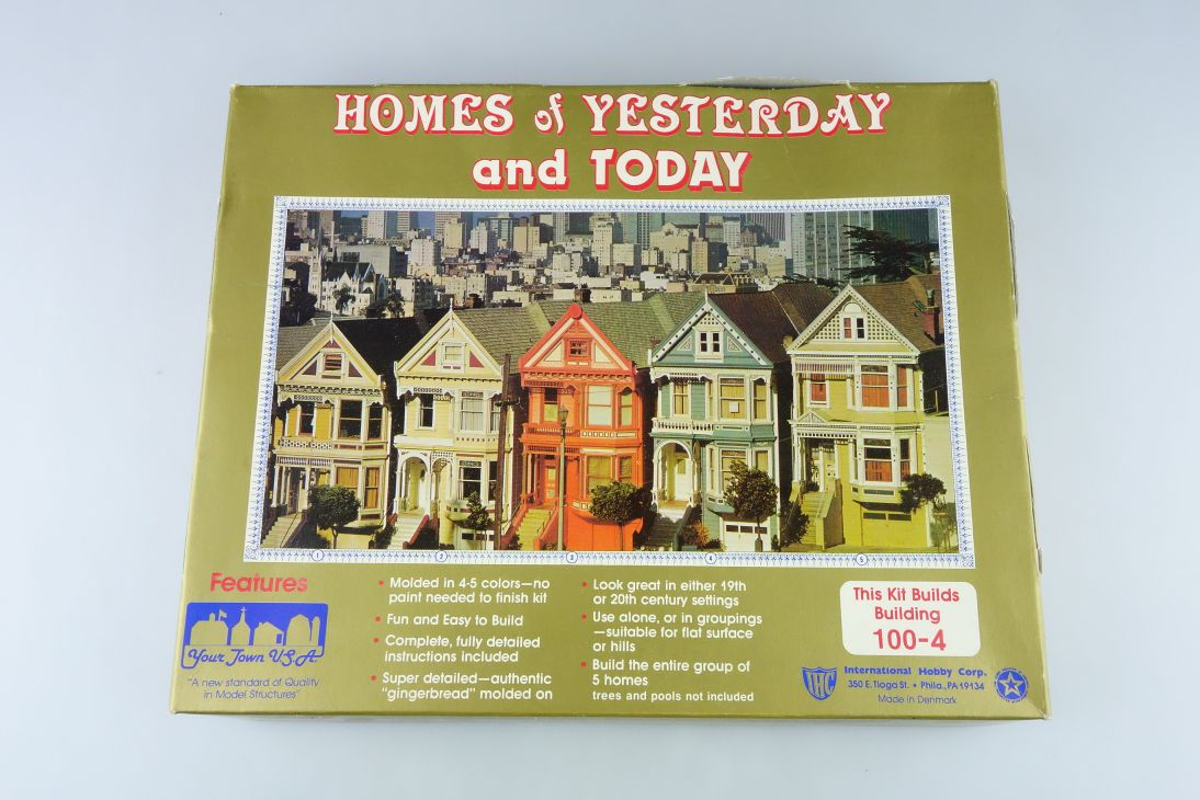 your town USA 1/87 HOMES of Yesterday and today viktorianisches Haus Kit 107762