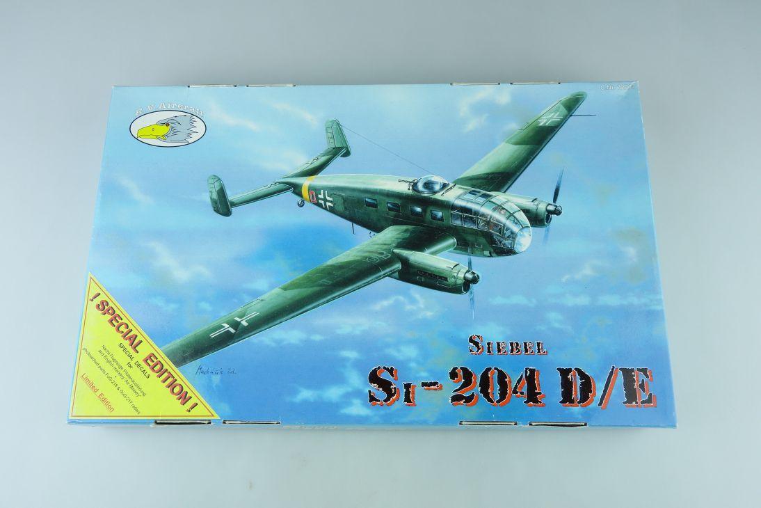 RV Aircraft 1:72 Siebel S-204 D/E prop plane Kit 72003 Bausatz 107765