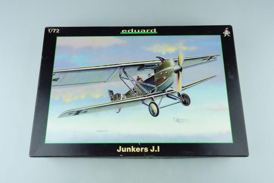 Eduard 1:72 Junkers J.I prop plane Kit 7045 Bausatz 107767