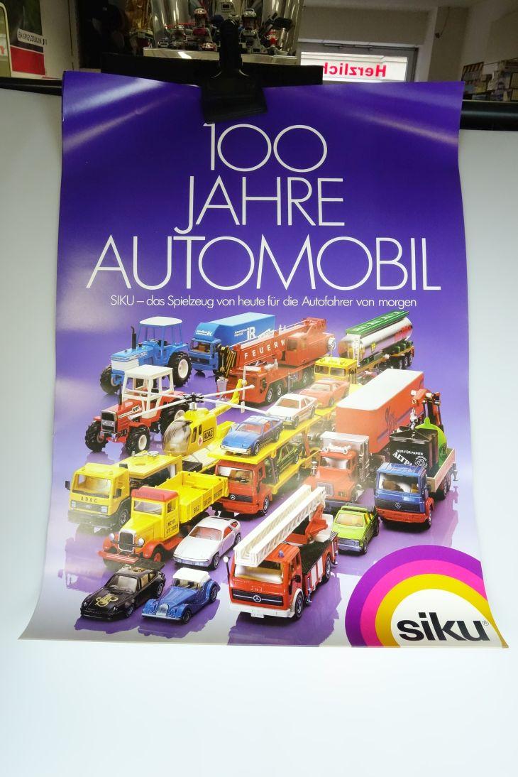 Für die Autofahrer von .Siku 1/55 Werbeplakat Poster 100 Jahre Automobil 107770