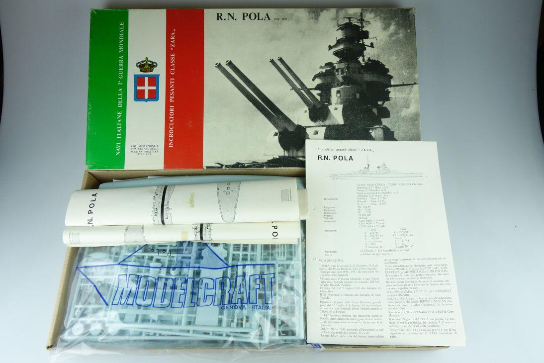 MODELCRAFT 1:400 R. N. POLA 1932-41 battleship Kit Bausatz IP 1004 107861