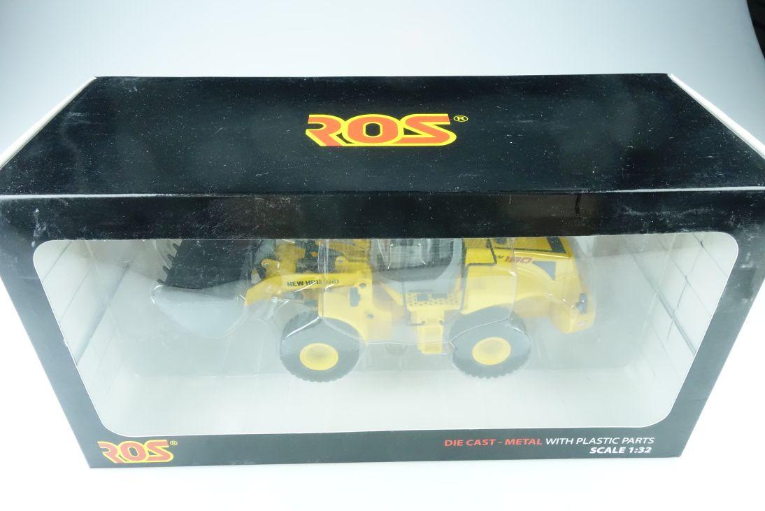 173.2 Ros 1/32 New Holland W 190 Radlader Schaufelbagger mit Box 510530