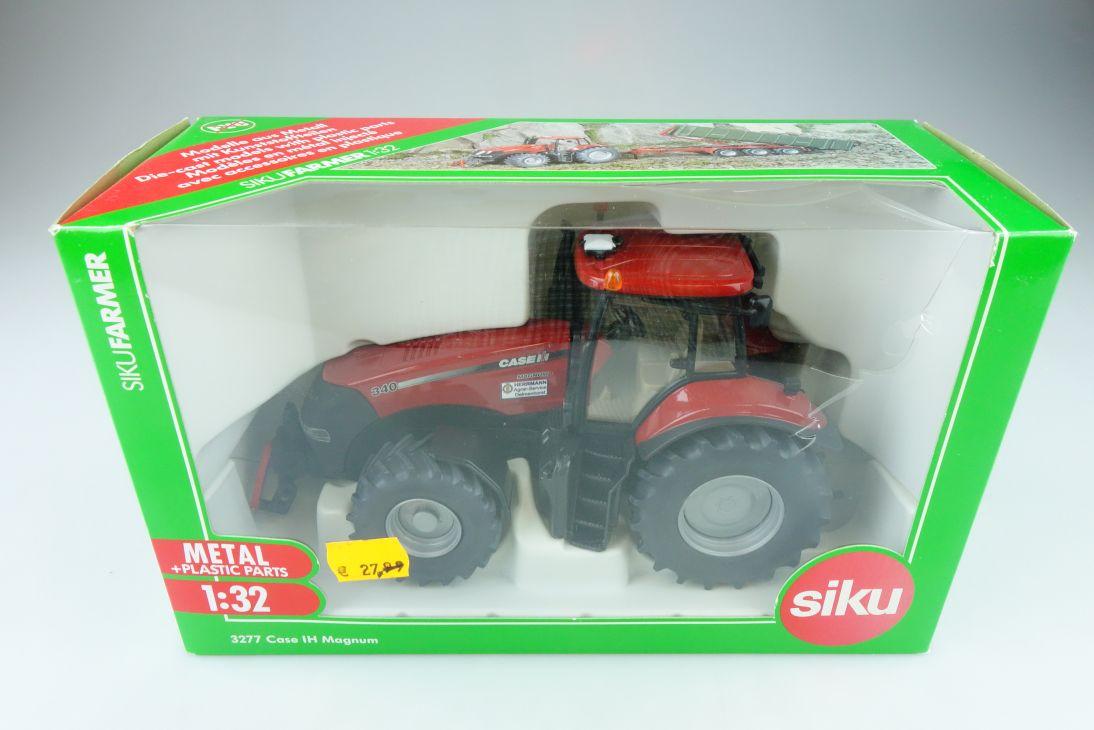 3277 Siku 1/32 Case International Harvester Magnum Traktor mit Box 510532