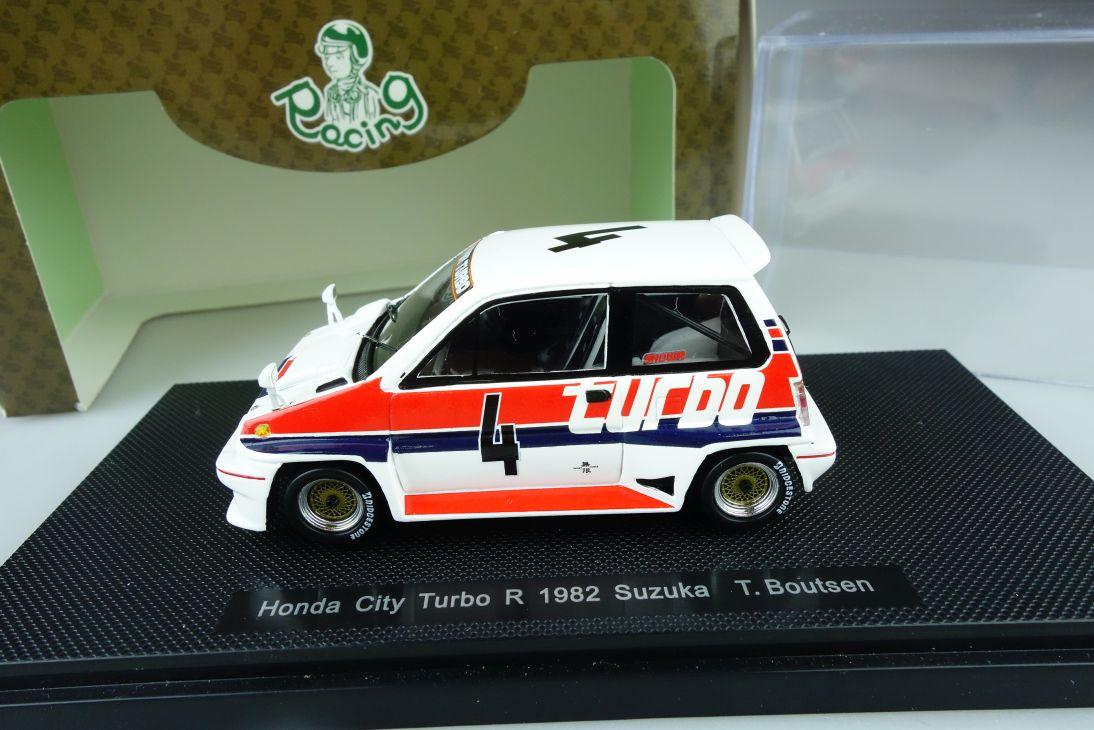 Ebbro 1:43 Honda City Turbo R 1982 Suzuka Boutsen # 4 diecast 44472 Box 107808