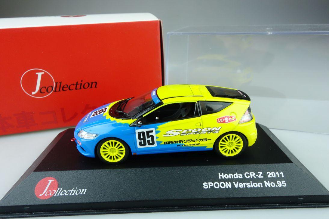 1:43 Honda CR-Z 2011 Spoon Version No. 95 Jcollection JC250 + Box 107818