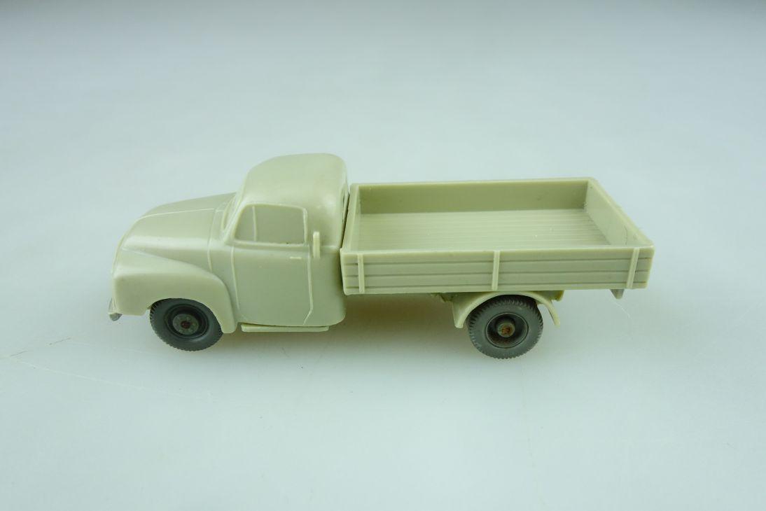 Saure 151 Wiking 1/87 Opel Blitz Pritsche unverglast hellgelbgrau ohn Box 510604
