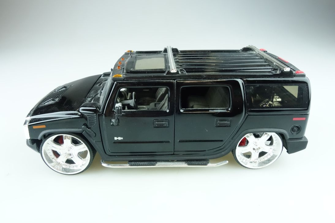 Jada Toys 1/24 Hummer H2 SUV  Custom Big Time Muscle ohne Box 510624