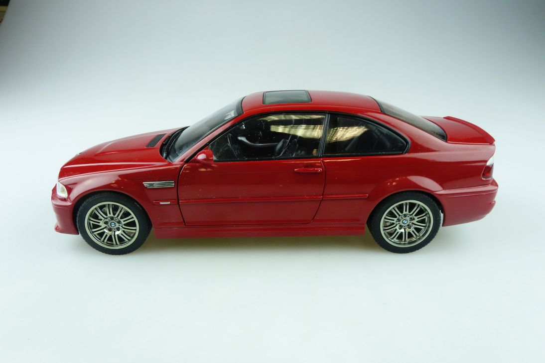 Autoart 1/18 BMW E 46 M3 Coupe rot red ohne Box 510740