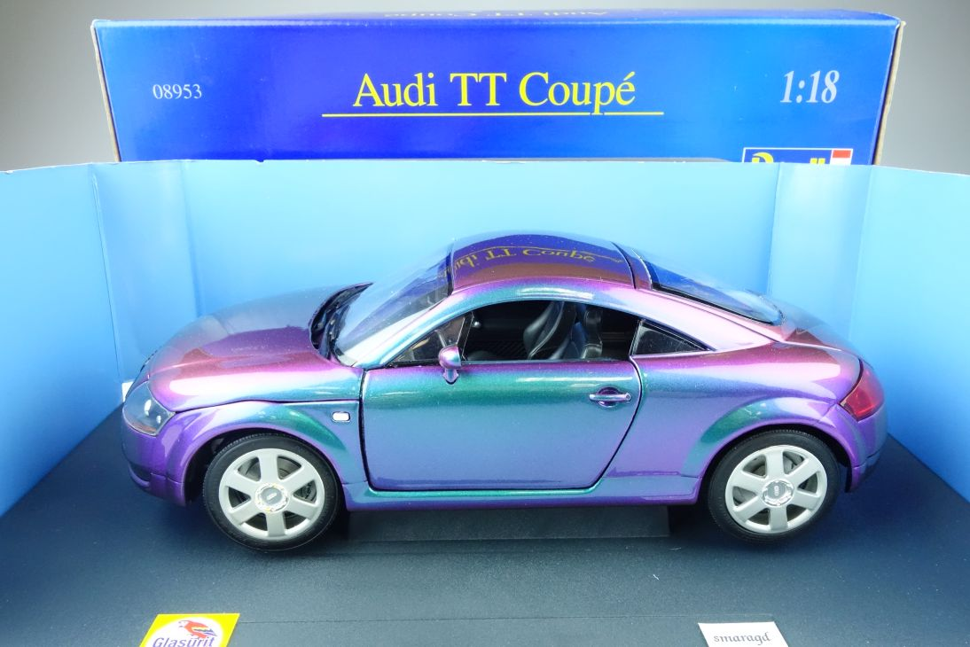 Revell 1:18 Audi TT Glasurit smaragd FlipFlop Lack Sondermodell Box 08953 107924