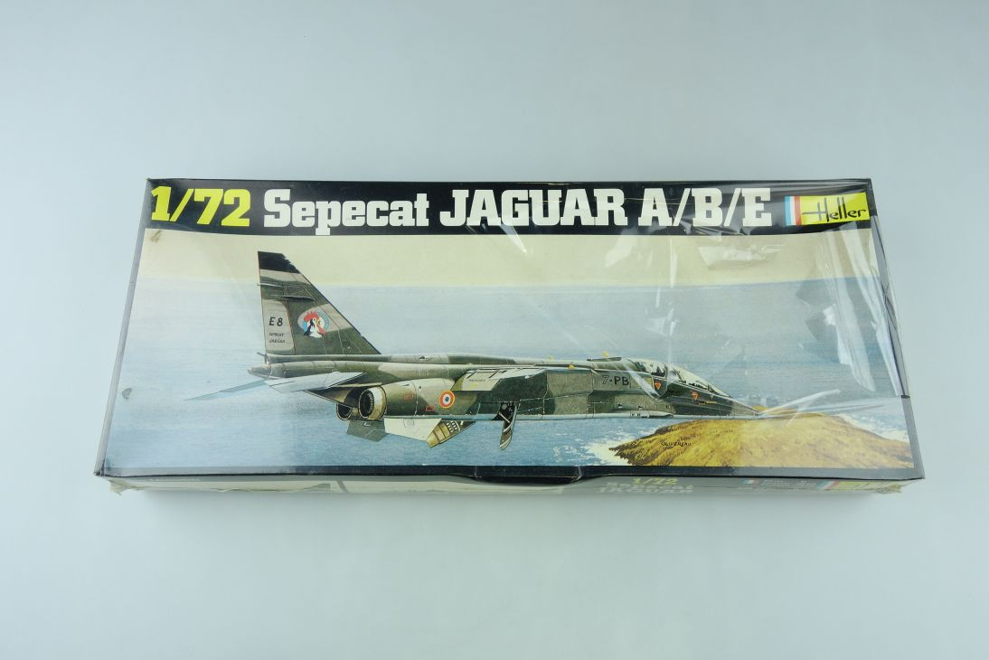 Heller 1/72 Sepecat Jaguar A/B/E Kit 263 sealed Box 108155