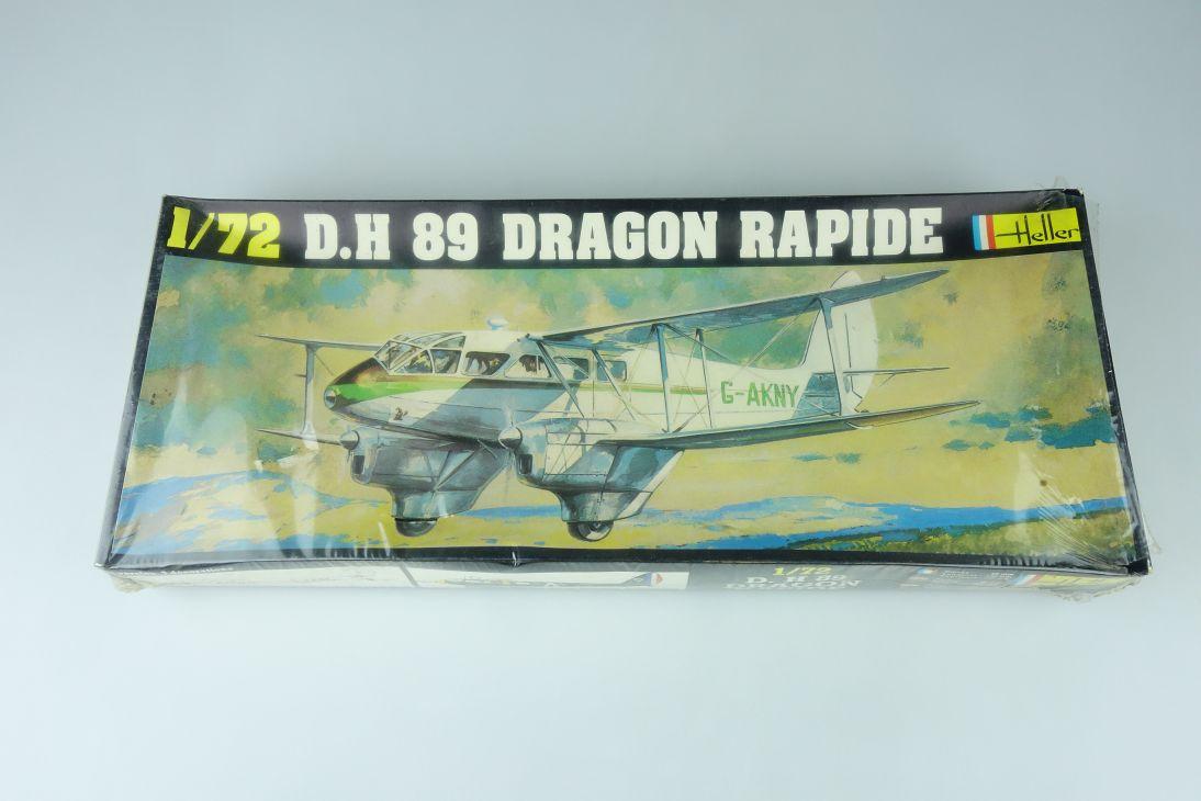 Heller 1/72 D.H. 89 Dragon Rapide prop plane Kit 345 sealed Box 108157