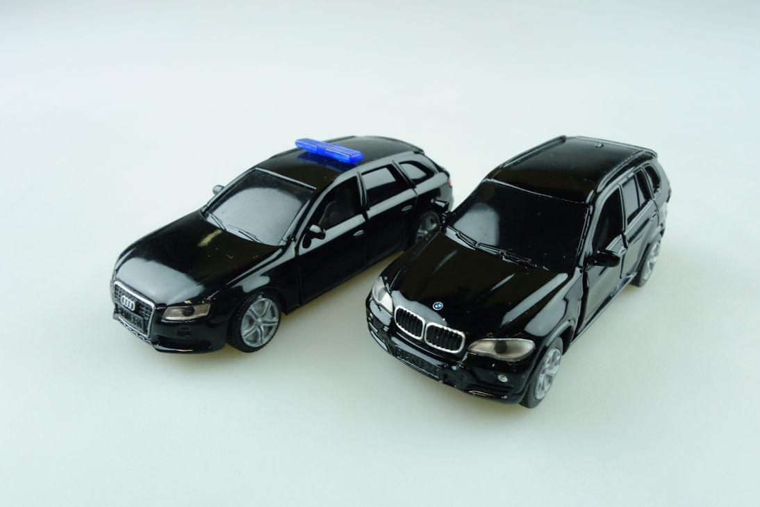6306 Siku 1 55 SEK Konvolut Audi Mercedes Sondereinsatzkommando Ohne Box 510799