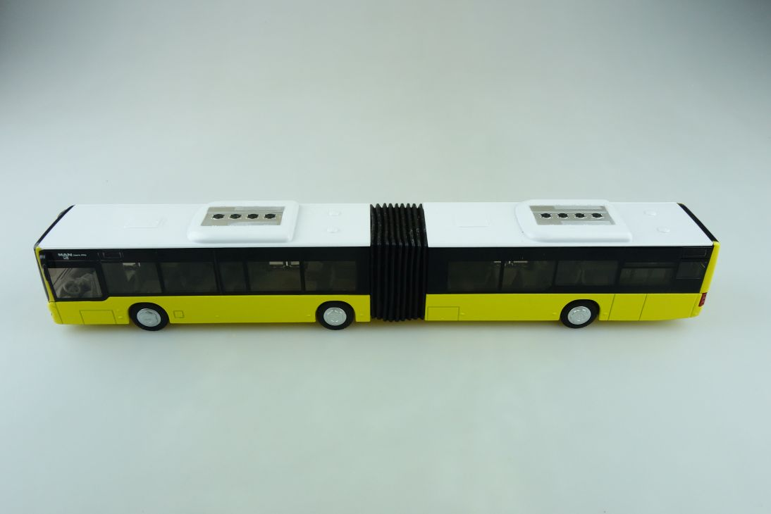 3736 Siku 1/50 MAN Gelenkbus Lionscity Bus Stadtbus seltene ohne Box 510811