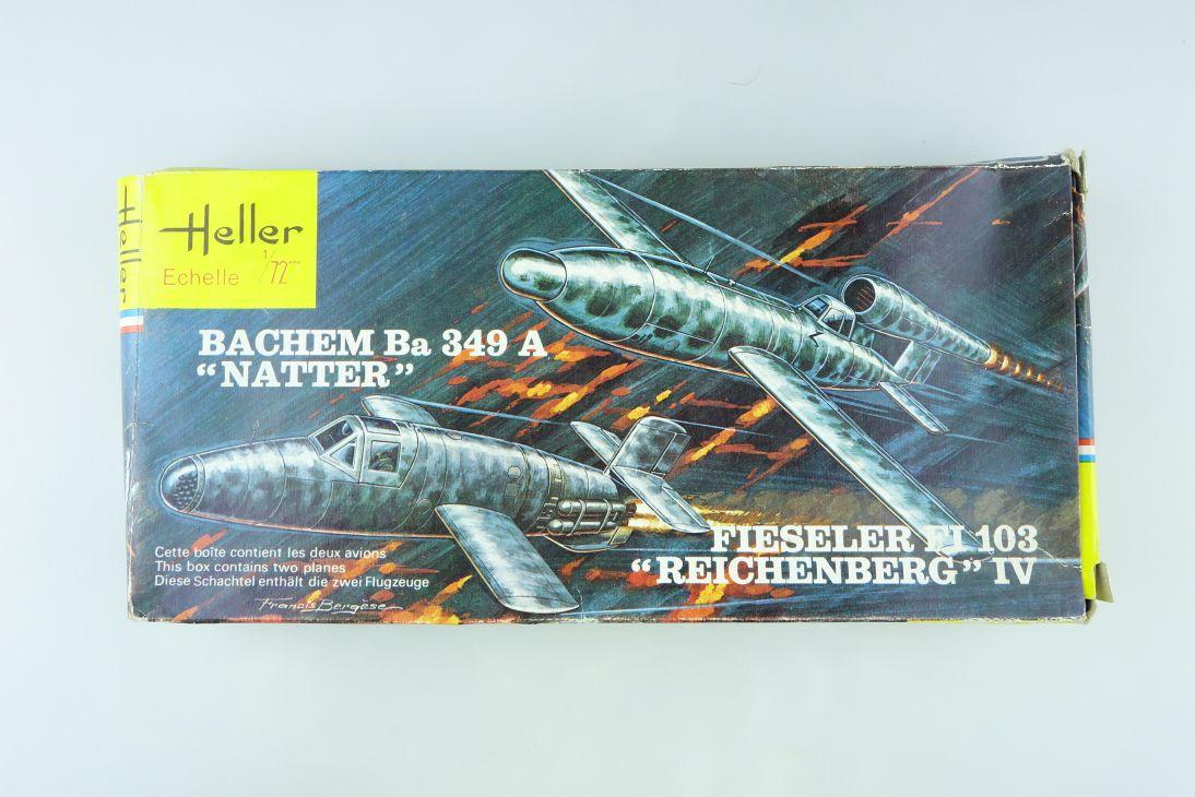 Heller 1/72 BACHEM Ba 349 A NATTER Bausatz vintage Kit 071 108206