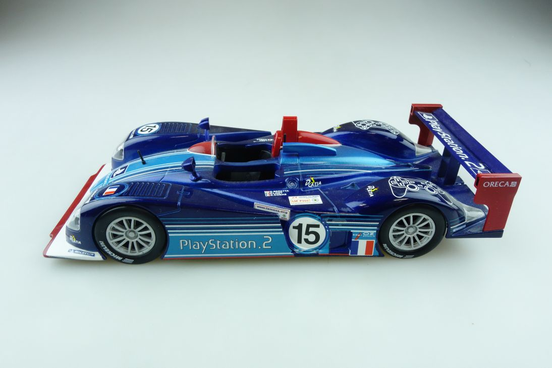 Motorama 1/24 Le Mans 2002 Dallara SP 2 Beretta Lamy Comas ohne Box 510856