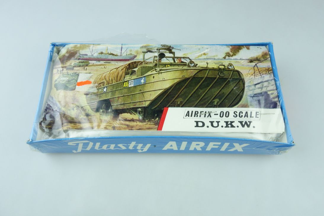 Plasty Airfix 00 D.U.K.W. DUKW Tüten Bausatz bag kit 1/76 blue box 108407