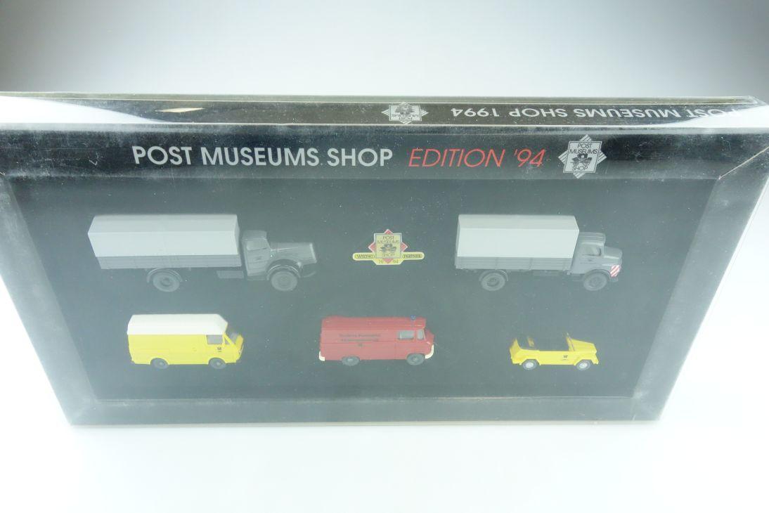 66-06 PMS Wiking 1/87 Edition 94 Mercedes VW Volkswagen Post mit Box 510896