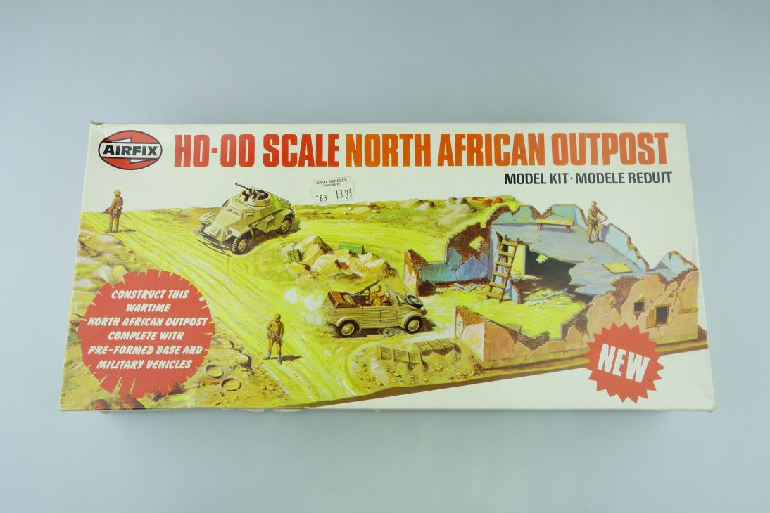 Airfix H0-00 Scale North African Outpost vintage kit 108305