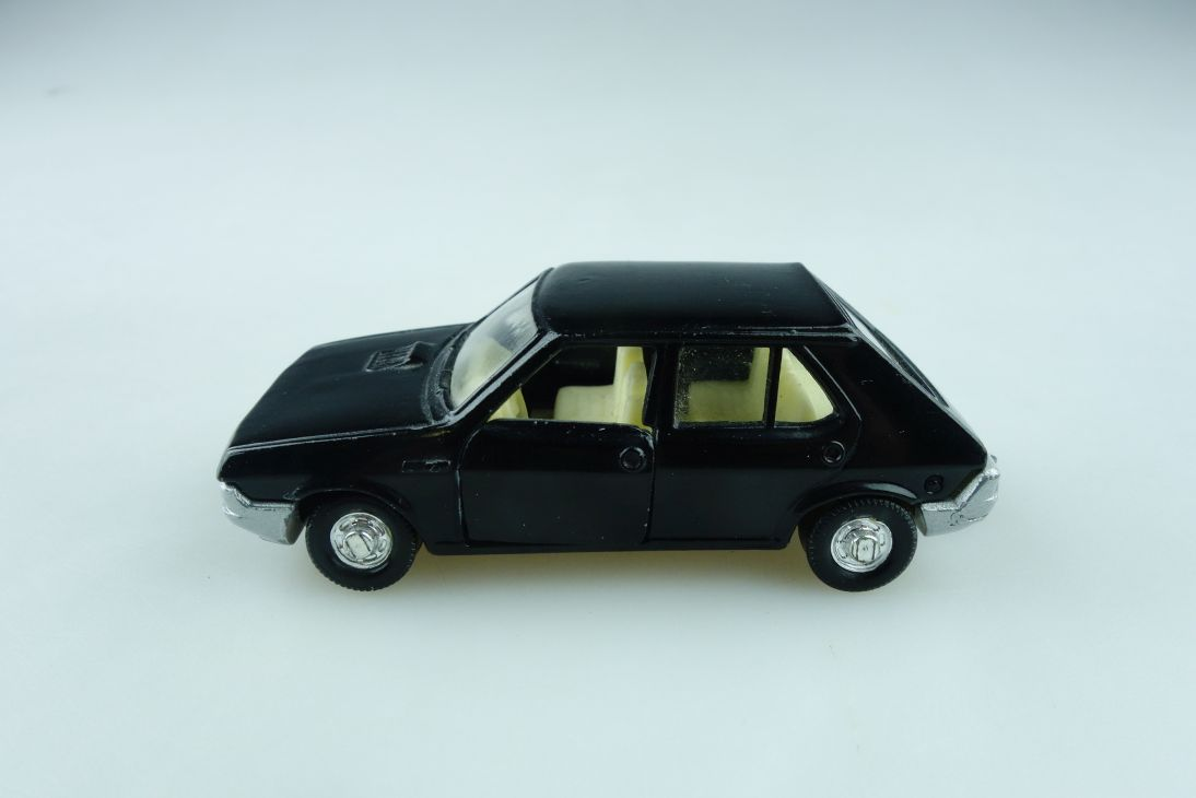 169 Mira 1/64 Seat Ritmo CLX made in Spain schwarz ohne Box 510969