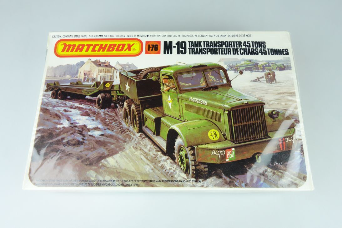 Matchbox 1/76 M-19 Tank Transporter 45 Tons kit PK-174 OVP 108326