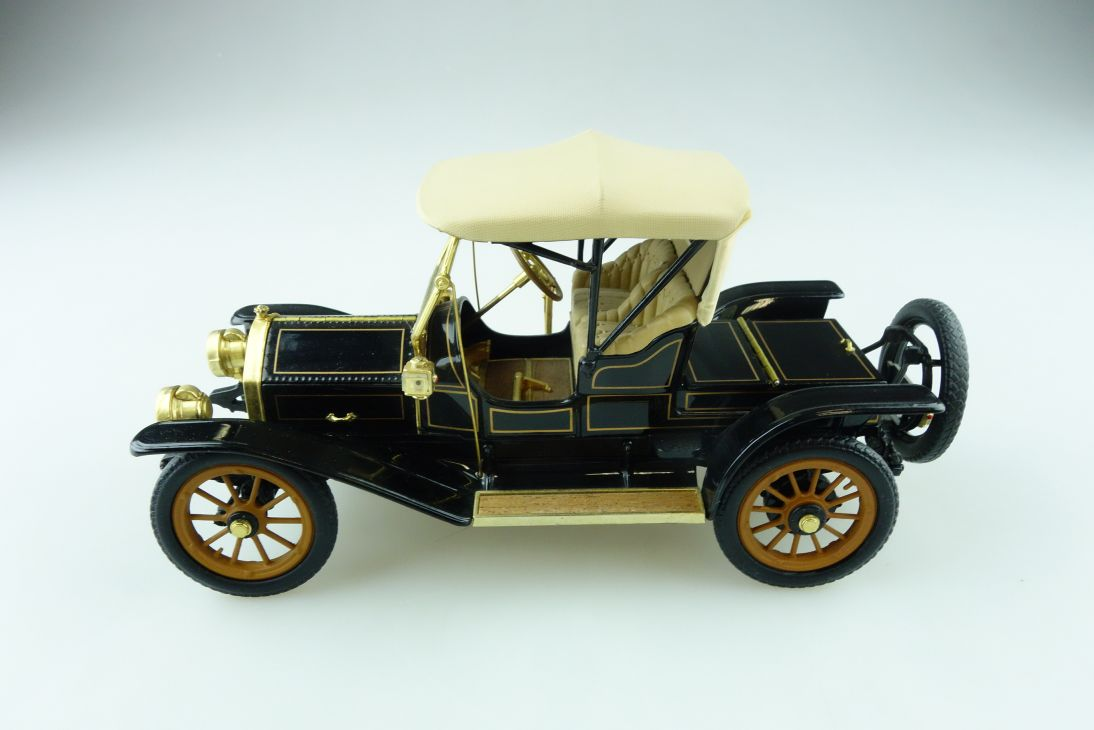 Franklin Mint 1/24 Cadillac thirty Roadster 1910 ohne Box 511275