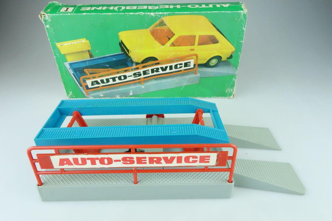 Anker Auto Hebebühne für ca. 1:25 Auto Werkstatt DDR car lift + Box 108428