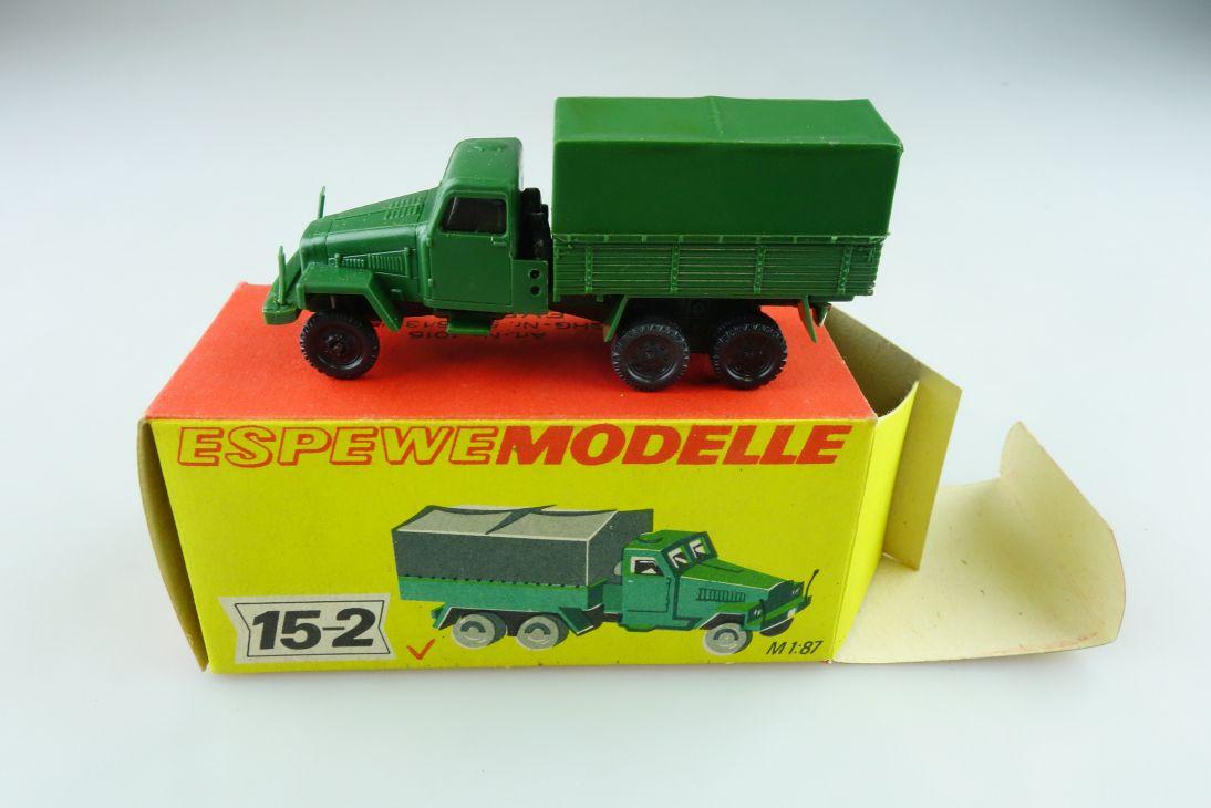 1015 Espewe 1/87 IFA G5 Mannschaftswagen NVA DDR mit Box 511423