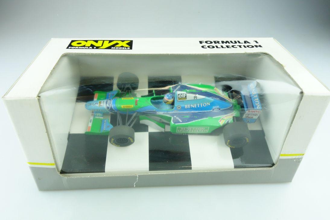 5018 Onyx 1/24 Benneton Ford B 194 Formel 1 Michael Schuhmacher mit Box 511443