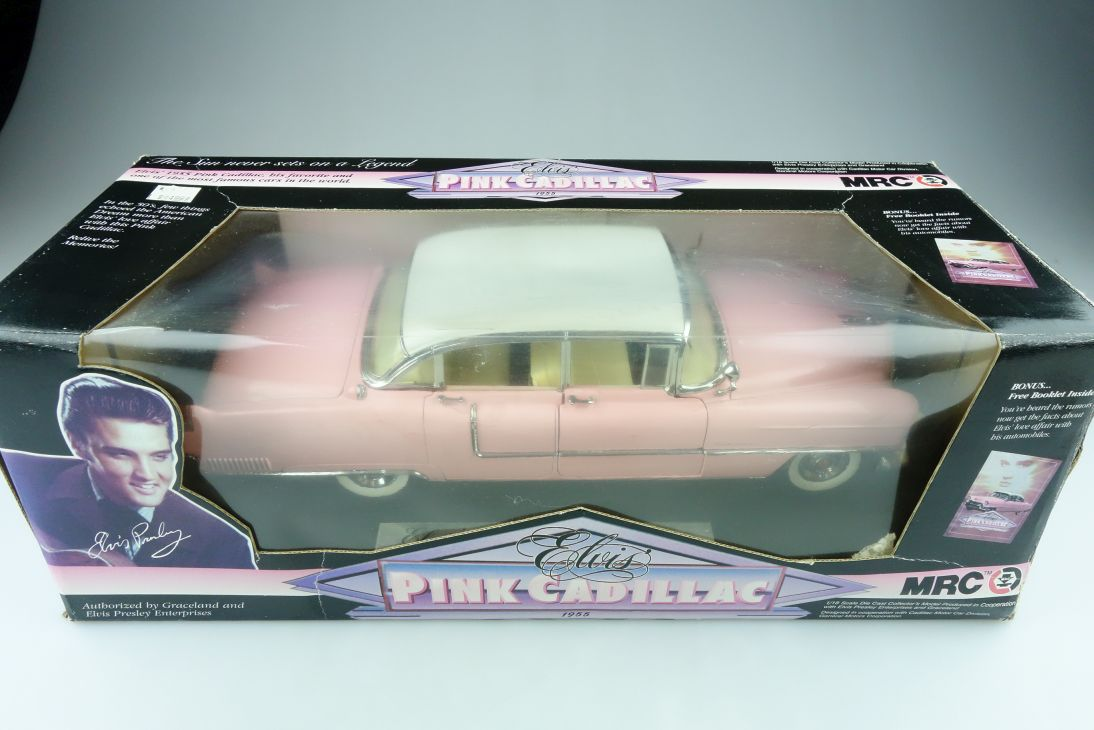 MRC 1/18 Cadillac Fleetwood fourdoor Sedan 1955 Elvis Presley mit Box 511444