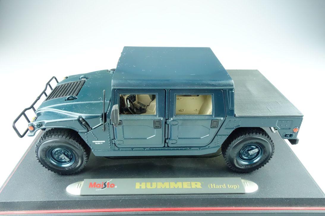 Maisto 1/18 Hummer H2 Hardtop Geländewagen ohne Box 511446