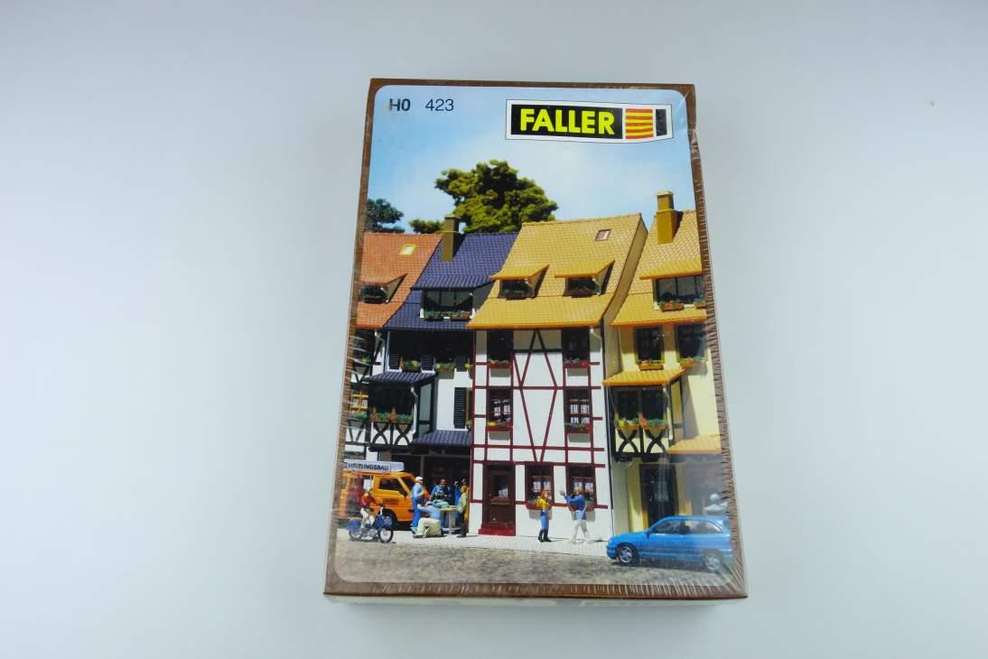 Faller H0 Wohnhaus mit Fachwerk Timbered house kit 423 108461
