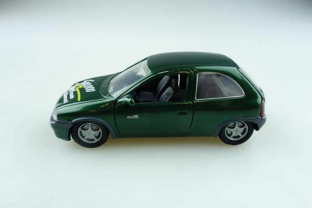 1005 Gama 1/43 Opel Corsa B Eisenach Jubiläum grünmetallic ohne Box 511466